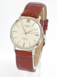 stunning solid stainless steel longines flagship automatic mens stunning solid stainless steel longines flagship automatic mens watch c1960