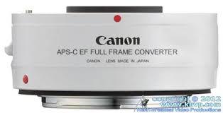 canon aps c to full frame ef lens converter
