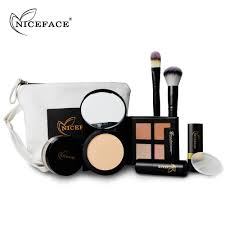 best deal new fashion makeup kits gift set brush concealer stick loose powder lipstick kit makeup whole cosmetics from dare