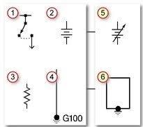 wiring diagrams for diy car repairs com electrical symbols chart
