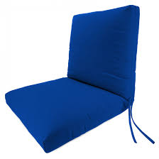 tips ed bauer sunbrella deep seating lounge chair cushion double pertaining astounding blue outdoor cushions applied