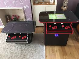 arcade coffee table machine 680 retro 2 player gaming cabinet uk made