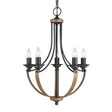 sea gull lighting corbeille 21 5 in 5 light stardust cerused oak wrought iron