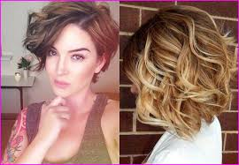 Best Hairstyles For Round Faces 2019 With Short Haircuts Curly Hair