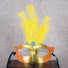 Mask Decorating Supplies 100pcslot Multi Color Halloween LED Feather Mask Party Flash Mask 58