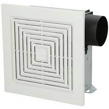 Broan Nutone 70 Cfm Wall Ceiling Mount Bathroom Exhaust Fan 671 The Home Depot