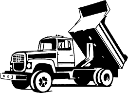 Truck black and white pickup truck clipart black and white free 4 ...
