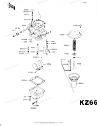 Kawasaki motorcycle 1982 oem parts diagram for carburetor parts rh partzilla 1978 kawasaki kz650 parts