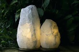 Salt Lamps Near Me Amazing So Well Salt Lamps Natural Cut Lamp With Wooden Base Real Near Me