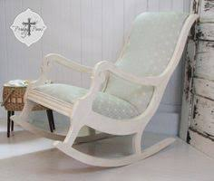 padded rocking chair. Wonderful Chair Antique Vintage Upholstered Rocking Chair With Gorgeous Fabric And  TimeWorn Appeal In Padded F