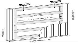 Barn Door Plans Diy Pole Barn Sliding Door Plans Saudireiki