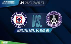 Cruz Azul vs Mazatlán horario y dónde ...
