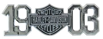 harley davidson emblems decals magnets