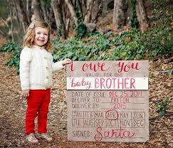 Christmas Birth Announcement Ideas 30 Unique Pregnancy Announcement Ideas