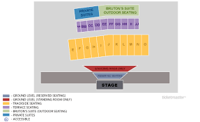 Thunder Valley Amphitheatre Pres By Ballad Health Bristol Tickets Schedule Seating Chart Directions