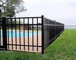 Metal fence Backyard Metal Fences Viking Fence And Deck Metal Fences And Aluminum Viking Fence And Deck