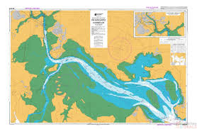 Sea Charts Nz Nz 5215 Whangarei Harbour Chart