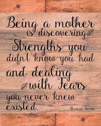 Strong Mother Quotes Extraordinary Being A Mother Quote PRINT Sherene Simon Quote By DesignMolloy