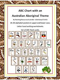 abc tracing sheet aboriginal abc chart flash cards letter tracing