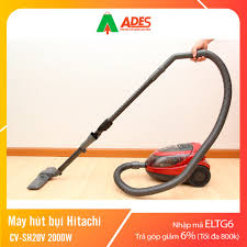 Mã ELHAXU11 hoàn tối đa 1 triệu xu] Máy hút bụi Hitachi CV-SH20V 2000W    Chính Hãng, Giá Rẻ