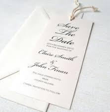 bookmark save the date unique wedding invitations bookmark save the date