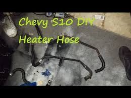 chevy s10 diy heater hose repair fix the rice truck part 3 5 chevy s10 diy heater hose repair fix the rice truck part 3 5