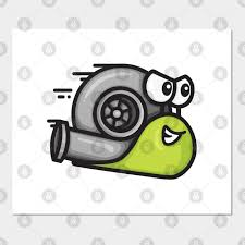 turbo snail lime green turbo