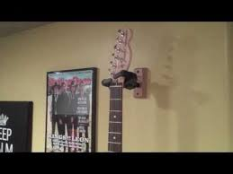 guitar wall hangers a simple demo of