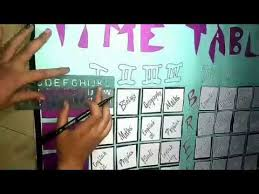 How To Make Time Table For School Students With Chart And Paper
