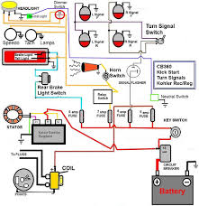 cb360 simplified wiring diagram w kick start only signals check here s an updated diagram reduced fuse size and relay in line not sure if this is the most efficient way to wire a 360 but again i appreciate