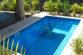 in ground pools rectangle. 8x16 Rectangle Pool Kit With Minimal Decking Small Inground Diy Ideas In Ground Pools