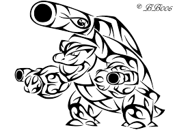 Small Picture Coloring Download Blastoise Coloring Page Blastoise Coloring