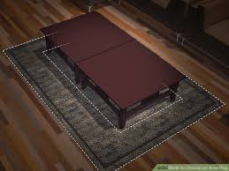image titled choose an area rug step 2