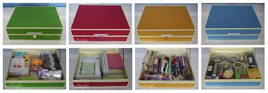 Document Boxes Decorative Home Office Wall Storage Organization Pretty Neat Living 10