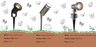 affordable garden spike lights affordable image