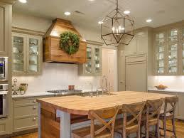 open kitchen design farmhouse: orange country style kitchen with open shelving
