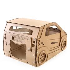 Cat House Smart Cardboard Cat House Ready To Use Cat Bed Ever Made That