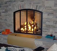 custom fireplace doors fireplace surrounds