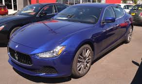 Blue Emozione 2016 Maserati Ghibli - Paint Cross Reference