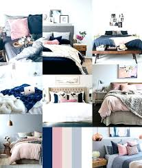 blue and white bedroom decor navy and white bedroom ideas more images of rose gold and