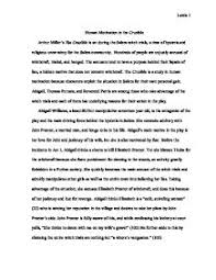 human motivation in the crucible abigail thomas putnam and page 1 zoom in