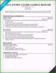 Data Entry Resume Samples Data Entry Resume Examples Beautiful Sample Cover Letter