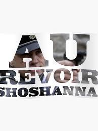 Au Revoir Shoshanna Inglourious Basterds Poster