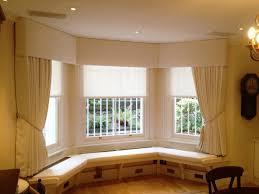 wooden curtain pelmets elegant padded pelmet and sheer roller blinds window seat london 020