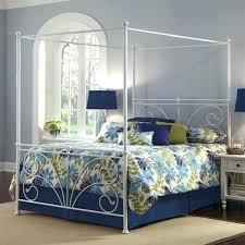 diy canopy frame bed canopy frame image of leaves blue bed canopy canopy bed frame plans