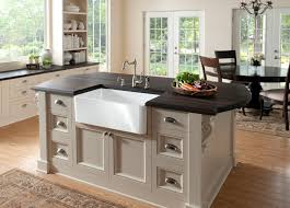Kitchen Island Sink Interior Decoration Apron Front Sink With Black Faux