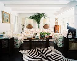 Zebra Rug Living Room Colonial Living Room Photos 14 Of 17