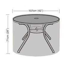 4 seater round table cover