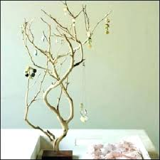 jewelry holder tree hot creative bird stand earring necklace