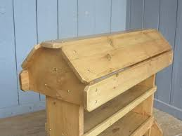 pine wooden saddle racks are made at ukaa in cannock wood staffordshire
